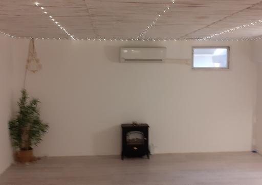 Sous sol isolé thermiquement et traité anti moisissures avec la peinture isolante Korund Façades
