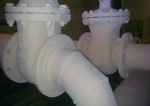 Vannes de coupure isolées thermiquement et protégées de la corrosion avec Korund Anticor
